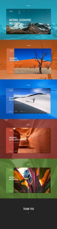 Wallpaper Website on Behance