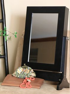 Wessex Tabletop Jewelry Storage Mirror from Stash Your Stuff: Furniture With Storage on Gilt