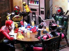 Kamen rider family