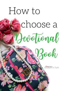 If you're searching for a new devotional book, I recommend using these six steps to you guide in your quest to find the perfect devotional. I use this process myself when I'm trying to choose the right devotional book and it makes the decision process muc
