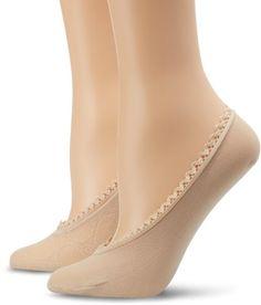 Ellen Tracy Women`s 2 Pack Open Circles Foot Liner $3.51 (71% OFF)