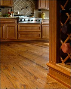 love wide plank flooring. just love it