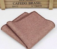 New Camel/ Tan/ Brown Tweed Pocket Square.Excellent Quality. Uk | eBay