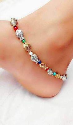costume jewellery fashion jewellery german silver jewellery Boho bracelet metal beads bracelet silver bracelet statement jewellery