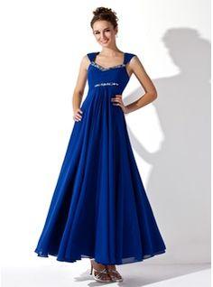 Special Occasion Dresses - $139.99 - A-Line/Princess V-neck Ankle-Length Chiffon Prom Dress With Ruffle Beading  http://www.dressfirst.com/A-Line-Princess-V-Neck-Ankle-Length-Chiffon-Prom-Dress-With-Ruffle-Beading-018020927-g20927