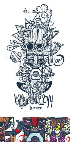 Print for t-shirt PDS 2014 on Behance by Konstantin Anufriev, Moscow, Russian…