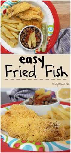 This recipe for fried fish is so easy and cooks-up super-fast. My kids love it!