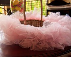 Tutu Easter Basket with tutorial