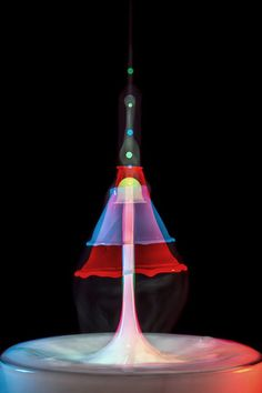 3   High-Speed Photography Turns Water Droplets Into Liquid Sculptures   Co.Design: business + innovation + design
