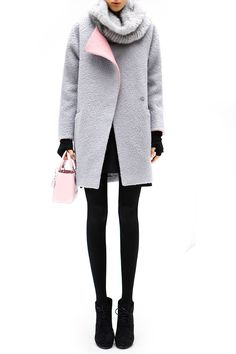Cocobella Isabella Coat in Gray