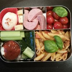 Work lunch in the LunchBots Bento Cinco #stainless