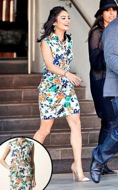 Vanessa Hudgens' Floral Dress