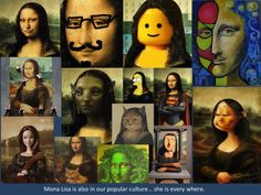 Leonardo da Vinci Biography for Kids: Mona Lisa : Art for kids Leonardo Da Vinci Biography, Mona Lisa Parody, Mona Lisa Smile, 5th Grade Art, Pop Art, Classic Artwork, Arts Ed, Art Programs, Renaissance Art