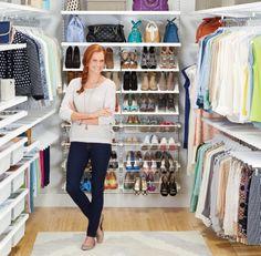 White elfa décor Walk-In Clothes Closet | SALE $2,734.68