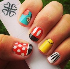 Jamberry Nail Wraps.....Check out the Jamberry Nail Art Studio (NAS)!! You can create any nail design imagined!! These Disney wraps were created in NAS!www.melissamcginnis.jamberrynails.net/nas/