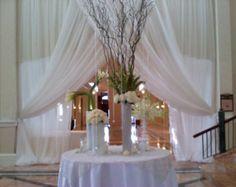 Boda blanco o marfil cortinas 18 pies largo x por HildasJustDetails