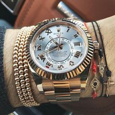 Today's #wristgame a beautiful #rolex #skydweller 305-377-3335 www.diamondclubmi... #rolexwatch #rolexchallenge #rolexero #watches #watchesph #watchesofig #watchessentials #watchesstyle #watchesshop #lovewatches #watchlovers #watchloversunite #sky #dweller photo by Anil Arjandas Stylish Watches, Luxury Watches, Fossil Watches, Rolex Watches, Men's Accessories, Diesel Watches For Men, Sky Dweller, Mens Designer Watches, Swiss Army Watches