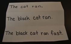 Description sentences Strategies for Teaching Writing in Kindergarten | Scholastic.com