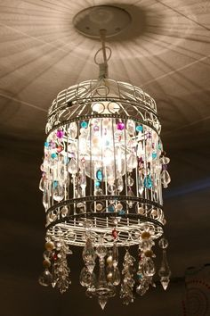 Chandelier for Vintage Lovers: Beautiful Birdcage Chandelier ~ Chandeliers Inspiration