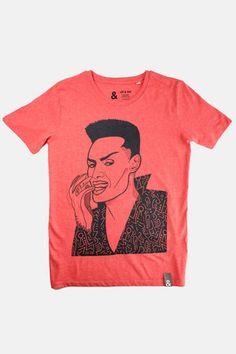 Grace T-shirt — Jill & Gill Create A Signature, Swing Tags, Neck Collar, Boss Lady, Screen Printing, Cotton Fabric, T Shirts For Women, Mens Tops, Anna Grace