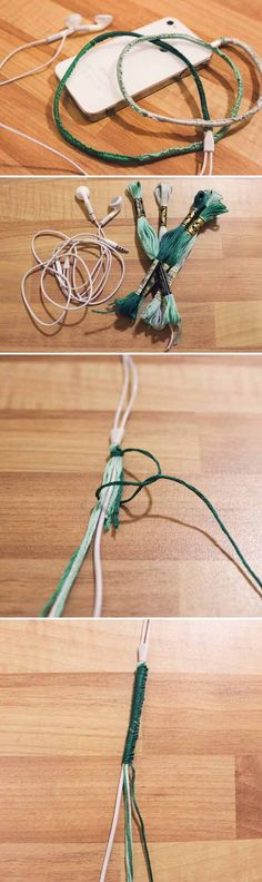 Simple and Cute DIY Project for Teenagers | Cool Headphone Cover by DIY Ready at http://diyready.com/27-cool-diy-projects-for-teen-girls/