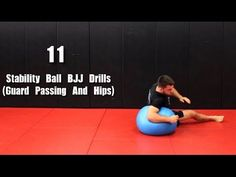 11 Solo BJJ Drills W/ Stability Ball (Guard Passing And Hips) - YouTube