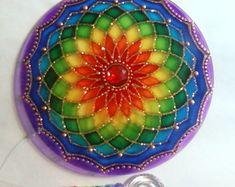 Mandala Cores do Arco íris