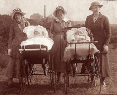 Baby Buggies, 1920 Style by davewebster14, via Flickr