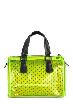 Clear to See Bag | Mod Retro Vintage Bags | ModCloth.com