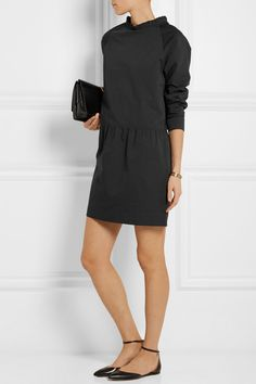 vestido y mini red de A AscoliSlub lino algodón Atlantique xwOXgO