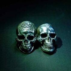 #hand #carved #skulls #wax #handmade #and #engraved #sterlingsilver925 #rings #skullrings #jewelry #by #RavenStudio. #amazing #awesome #gift #for #mens #mensfashion #boy #boyfriend #friends #like4like #followme