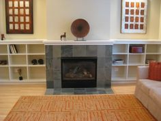 .Need ideas for a new fireplace...