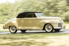 <B>1948 Plymouth Special Deluxe Convertible</B><BR />Chassis no. P15605096<BR />Engine no. P15*872918*S