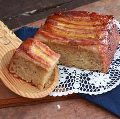 A Cook's Memoir - Inspired recipes from our travels to many exotic lands: Upside down banana bread