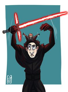Star Wars: Anyone can join the Dark Side by iisjah #kyloren #starwars