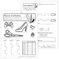 tracer et mesurer des segments | Géométrie ce2, Mesure de longueur, Mathématiques ce2