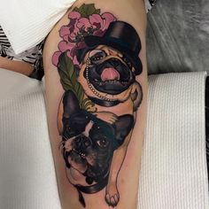 Emily Rose Murray Pug and French bulldog