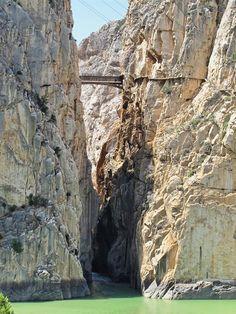 Gorge des Gaitanes  - Caminito del Rey, Alora (Espagne)