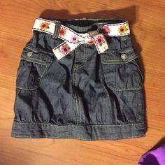 Girls Jean Skirt Great condition Gymboree Skirts