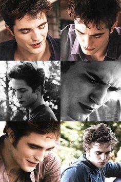 Edward Cullen + looking down via Tumblr
