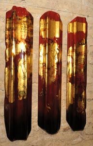 The Golden Doors, Lacquer - Rémi Maillard, lacquer artist decorator