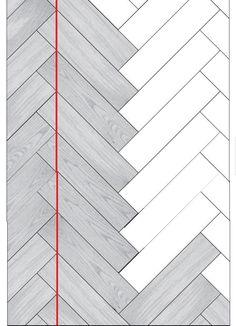 Herringbone Brick Pattern, Paving Pattern, Floor Design, Tile Design, Floor Patterns, Brick Patterns, Planchers En Chevrons, House Architecture Styles, Porcelain Wood Tile