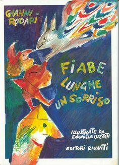 Illustrazione di Emanuele Luzzati Fiabe lunghe un sorriso - Gianni Rodari (1987)