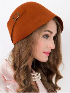 GET $50 NOW | Join RoseGal: Get YOUR $50 NOW!http://www.rosegal.com/hats/outdoor-wool-bowler-cloche-hat-864414.html?seid=1424208rg864414