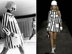 Clones | Andre Courreges Vs Moschino Cheap & Chic
