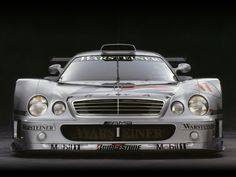 Mercedes CLK-GTR Front View by Rick Graves « M&R Entertainment Merchandising…