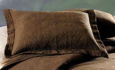 Chocolate Brown Matelasse Standard Pillow Sham  $29.74