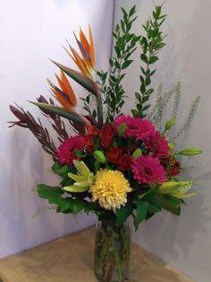 A flower arrangement called Invigorate