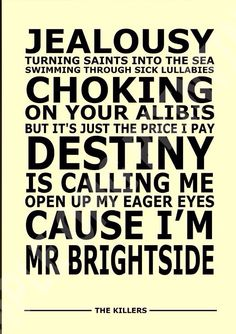 Mr Brightside~ The Killers