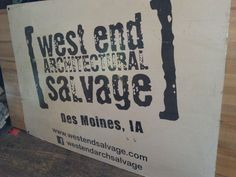 West End Salvage-awesome place to visit if you're ever in DesMoines